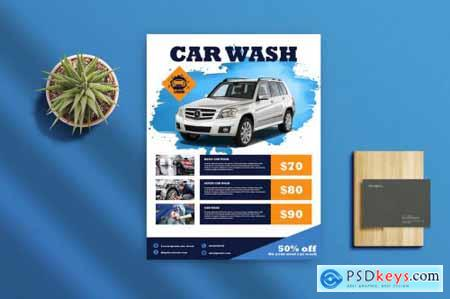 Car Wash Flyer 1
