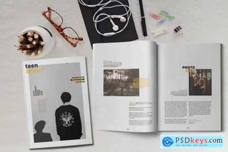 Multipurpose Indesign Magazine Template