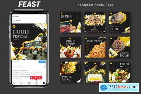 Feast - Instagram Feeds Pack