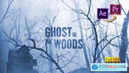 Videohive Ghost in the Woods Horror Trailer Premiere PRO 25553383