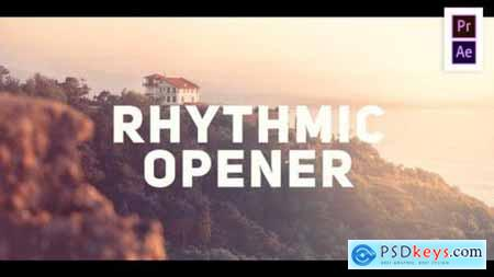 Videohive Rhythmic Modern Opener 25559455