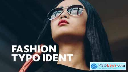 Videohive Fashion Ident -- Typo Opener 23439720
