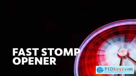 Videohive Fast Stomp -- Typo Opener Essential Graphics Mogrt 23479721