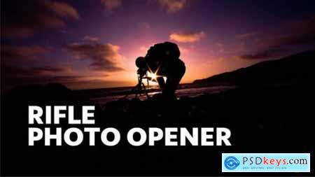 Videohive Rifle -- Photographer Opener 22106041