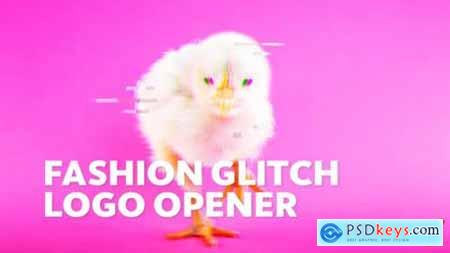 Videohive Dynamic Fashion -- Glitch Logo Opener 23699807
