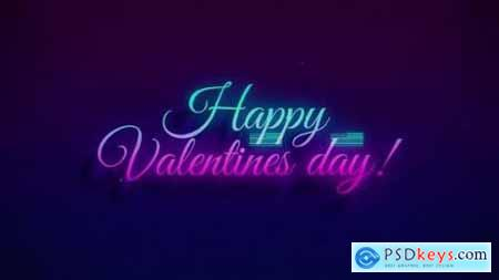 Videohive Happy Valentines Day Sale Glitch 25366976
