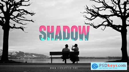 Videohive Shadow Logo Simple and Clean Intro 10538745