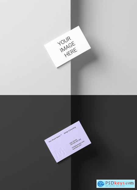 Business Card Mockup 317089575
