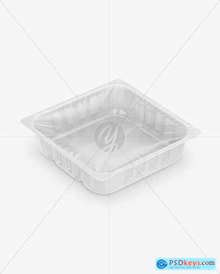 Plastic Tray Mockup 54561