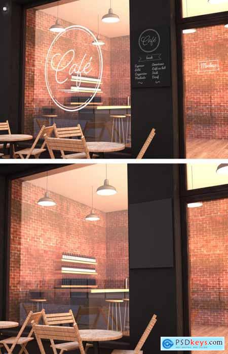 Outdoor Cafe Mockup 273224214