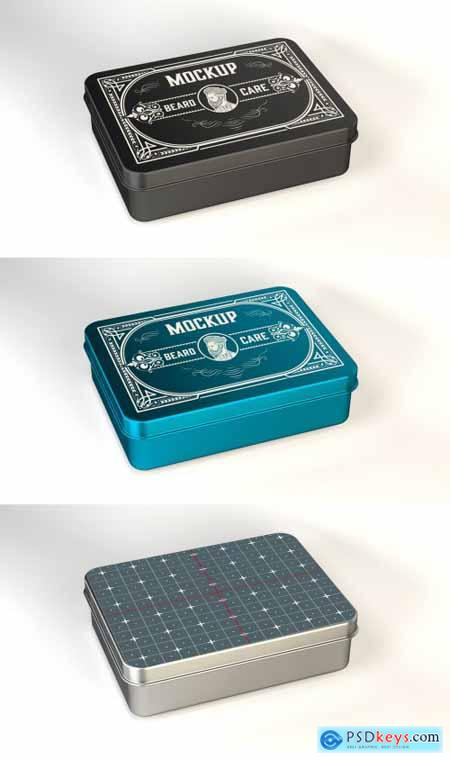 Colored Tin Mockup 317087546