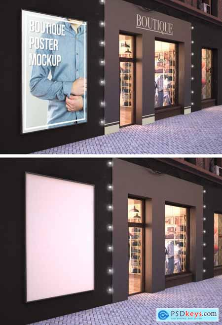 Store Exterior Mockup 273224179