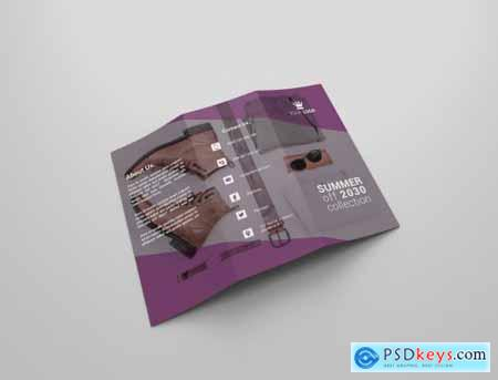 Fashion Tri-fold Brochures 4341912