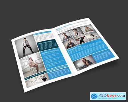Tradex Business Bi-Fold Brochure 4325982