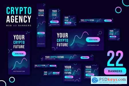 Crypto Agency - Google Ads Web Banners