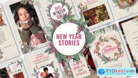 Videohive New Year Stories 25283304