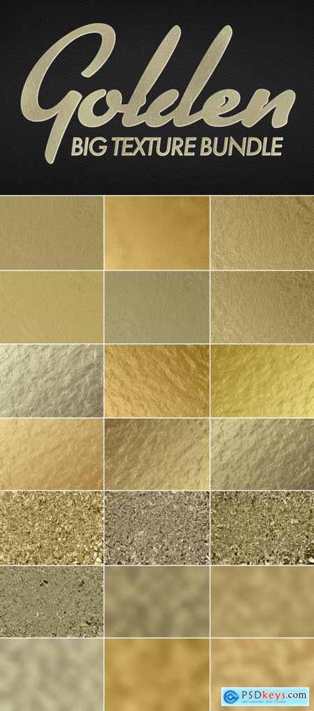 Gold Foil Texture Mockup Bundle 317322886