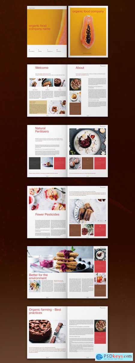 Food Brochure Layout 317287150