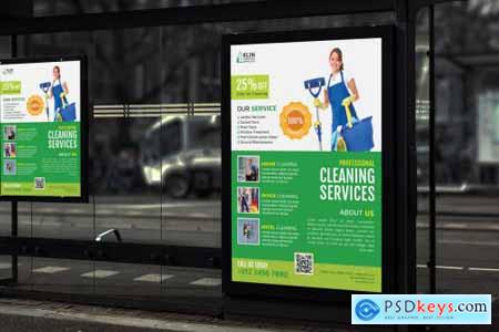 Klin Cleaning Service - Promotion Poster RB