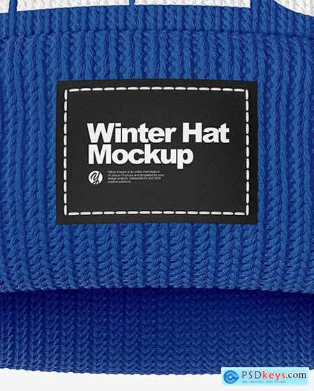 Winter Hat Mockup 54633