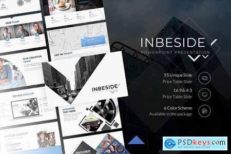 Inbeside Powerpoint Presentation Template