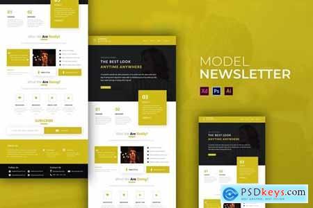 Model - Newsletter Template