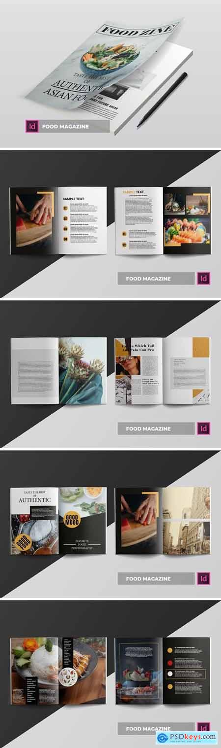 foodzine - Magazine Template