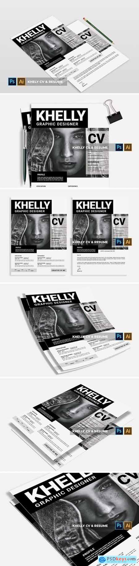 Khelly - CV & Resume