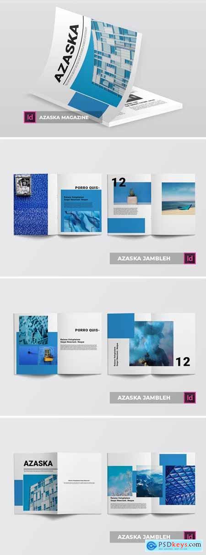 Azaska - Magazine Template