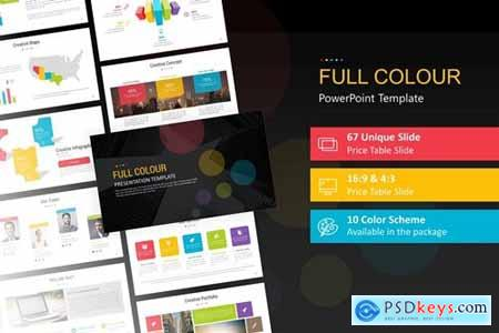 Full Colour PowerPoint Presentation Template