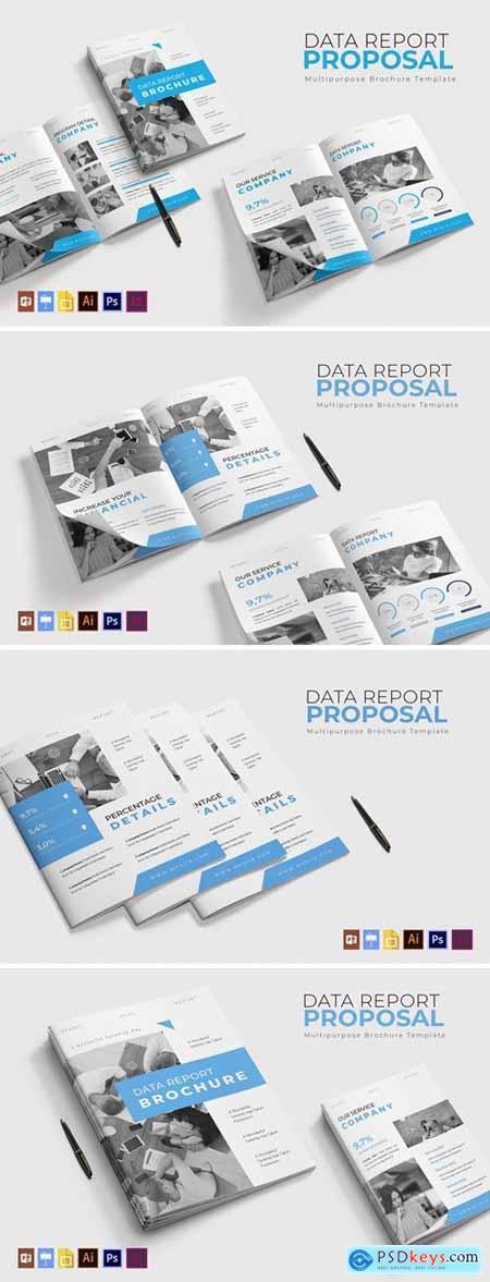 Data Report - Brochure Template