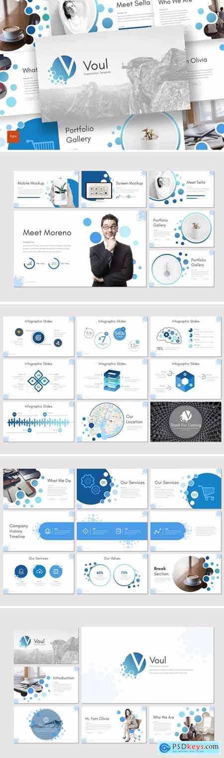 Voul Powerpoint, Keynote and Google Slides Templates