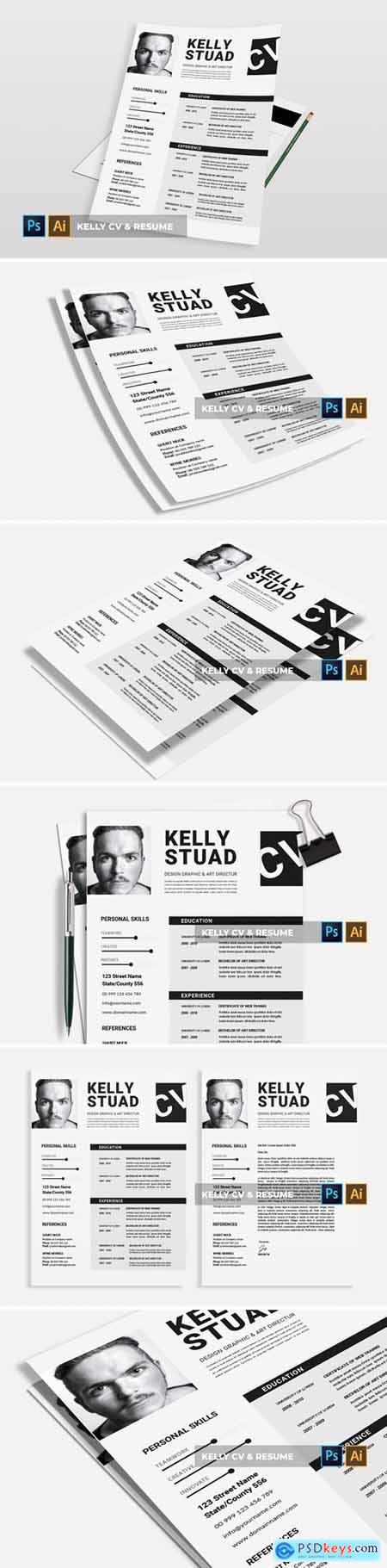 Kelly - CV & Resume