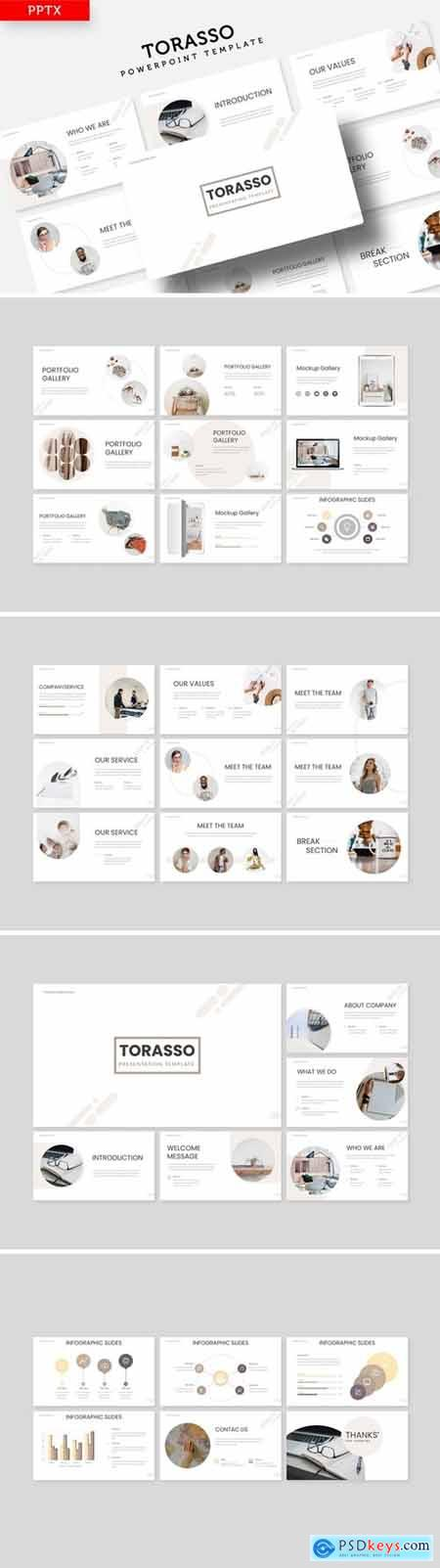Torasso Powerpoint, Keynote and Google Slides Templates