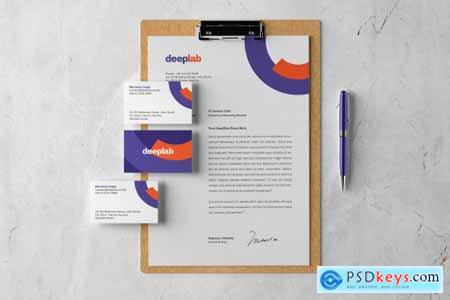 Clipboard Branding Mockup set 4433987