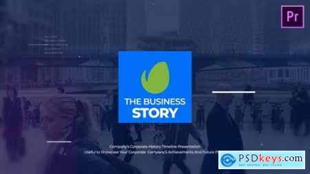 Videohive The Business Story MOGRT 25575472