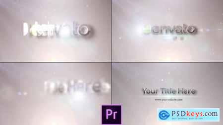 Videohive Flares Logo Reveal Premiere Pro 25573958