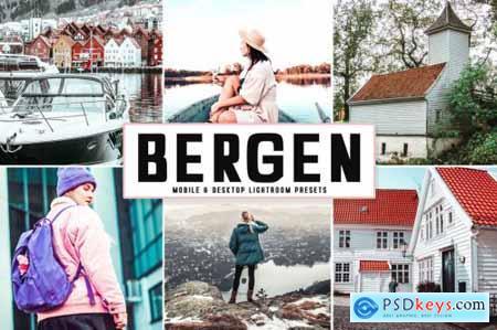Bergen Mobile & Desktop Lightroom Presets