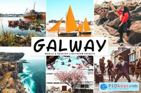 Galway Mobile & Desktop Lightroom Presets