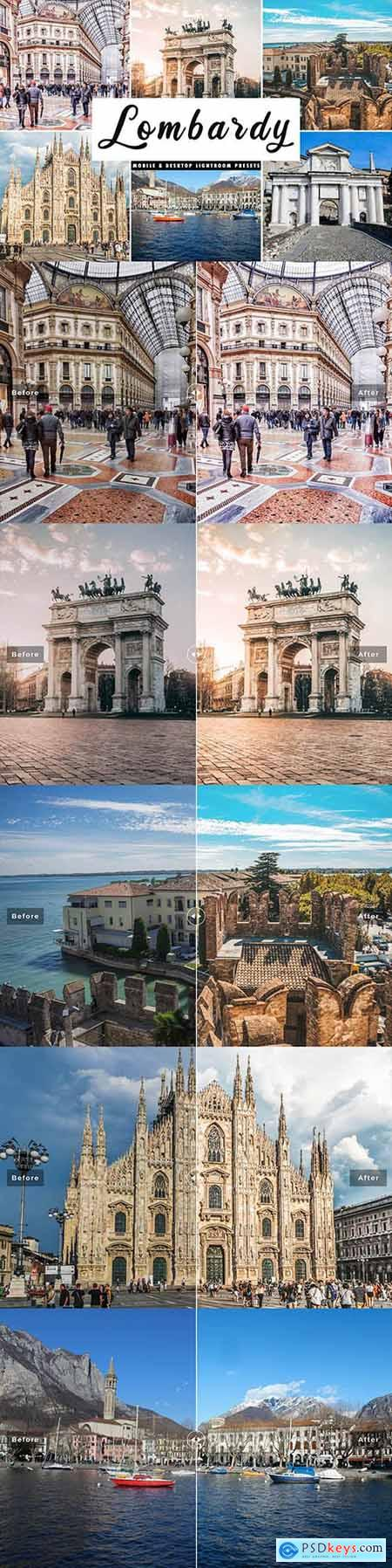 Lombardy Lightroom Presets Pack 4508559