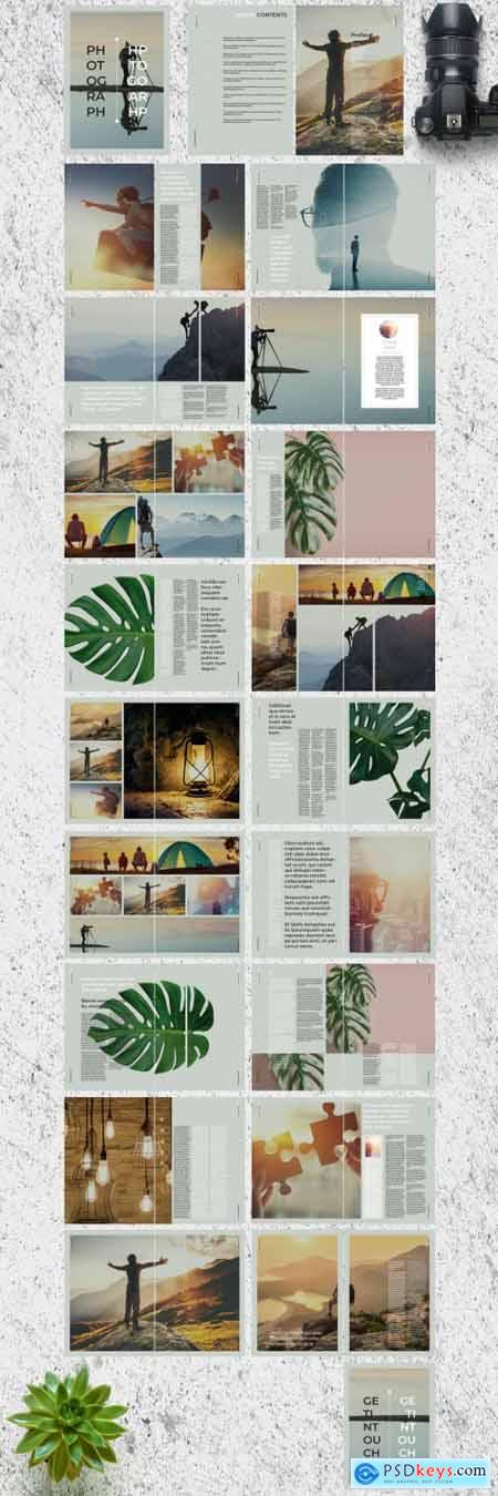 Pale Green Photo Album 274092194