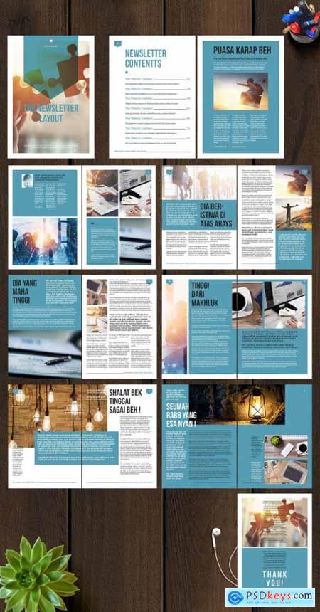 Teal and White Newsletter 274092146