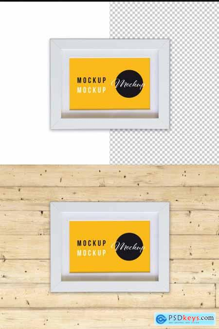 Small Photo Frame Mockup 317591075
