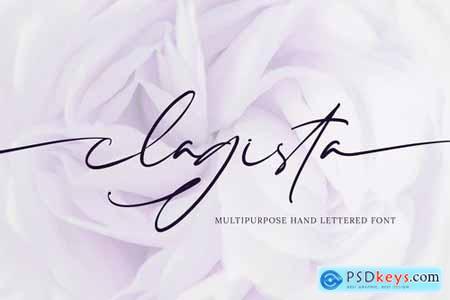 Clagista Signature Handwritten Font