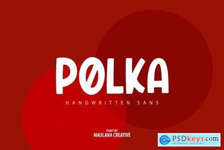 Polers - Sans Serif Font 4504072