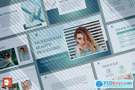Beauty Market PowerPoint Presentation Template
