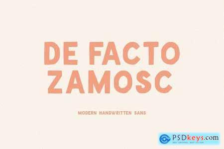 De Facto Zamosc + Free Font & Logos 4491277