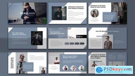 Geaulman – Creative Fashion Powerpoint Google Slides and Keynote Templates