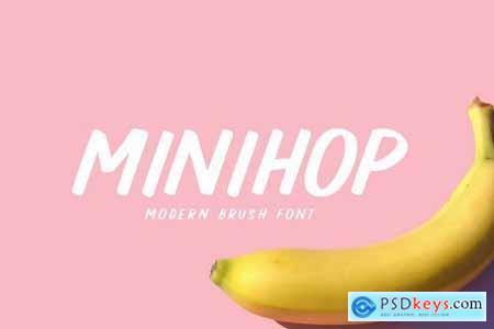 MINIHOP - Modern Brush Font