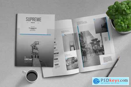 Supreme Magazine Template